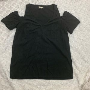 Anthro Silence + Noise   Cold Sholder Top   Size M